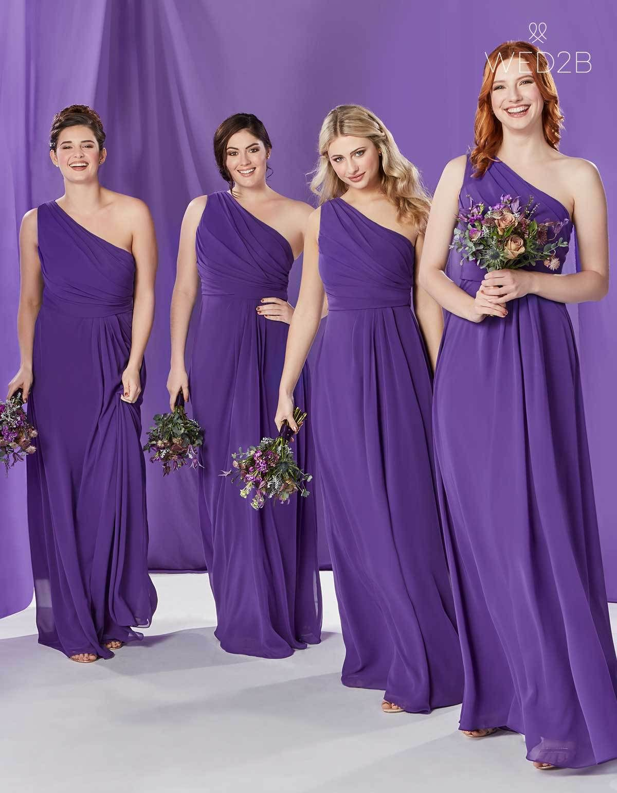 How To Choose Your Bridesmaids Dresses Wed2b