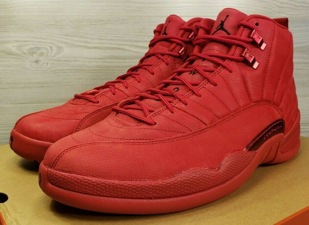 29aa1eb3 Nike Air Jordan 12 Retro Gym Red XII Basketball Fashion 130690-601 Size 12  #shoes #kicks #sneakers