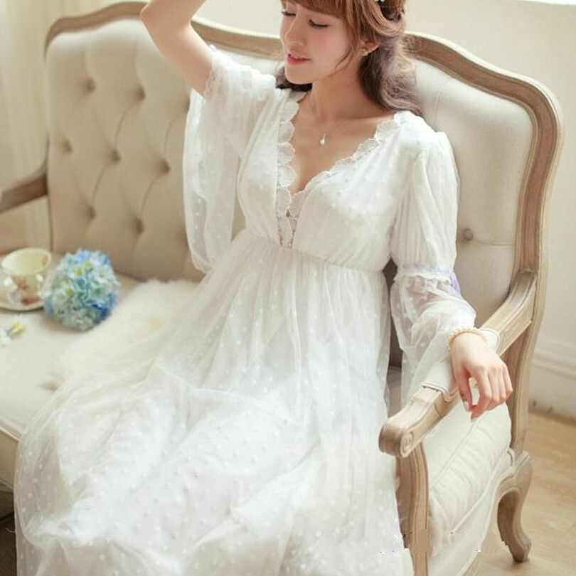 Find More Nightgowns & Sleepshirts Information about Free Shipping ...