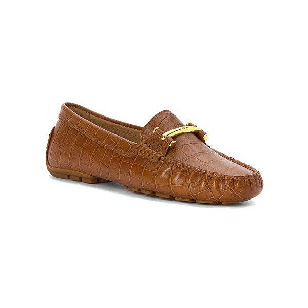 LAUREN Ralph Lauren Caliana ($98) ❤ liked on Polyvore featuring shoes, casual shoes, women, buckle shoes, lauren ralph lauren shoes, loafer shoes and lauren ralph lauren