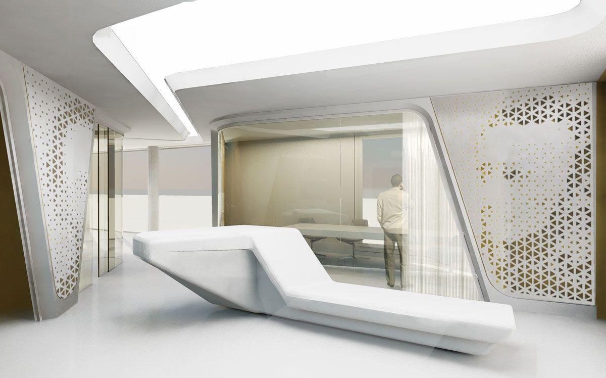 Modern Bank Interior Design Raiffeisen In Zurich With Images