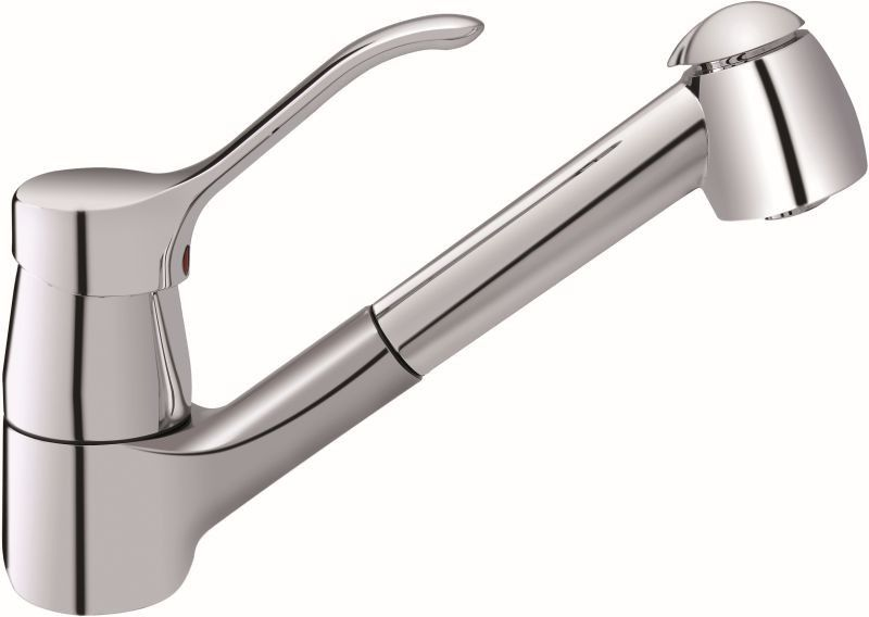 Ideal Standard Cera L - Kitchen faucet with pull-out hand shower ...