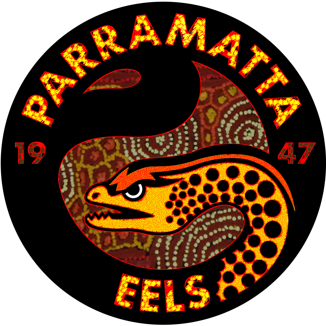 Parramatta Eels Logo Aboriginal Edition By Sunnyboiiii Rugby League Australian Rugby League Logos
