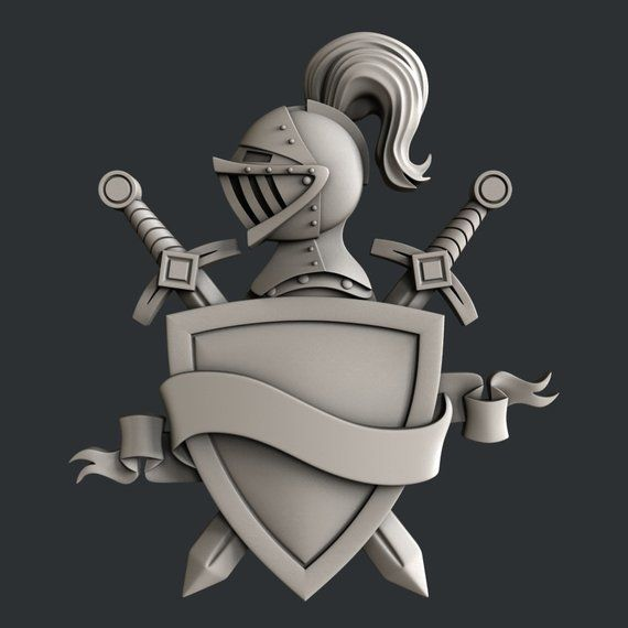 3d STL models for CNC set knight in 2020 Cnc, Airbrush