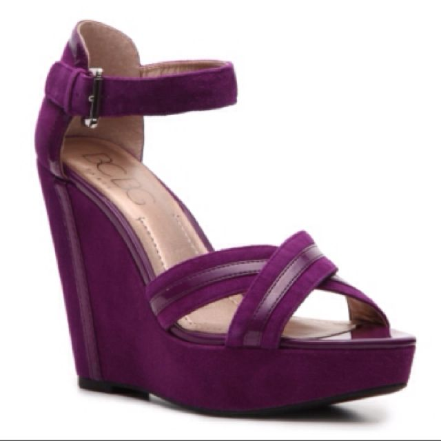 Bridal Shoes Dsw: BCBG Innax Wedge Sandal. DSW. $79.95