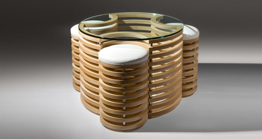 An Intriguing Coffee Table Design From Martin Gallagher Is This Weeks Fun  Furniture Friday. Also