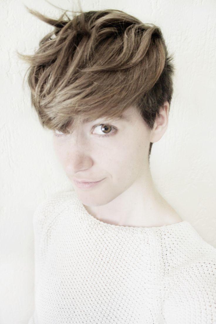 Androgynous hair short 60 Cute