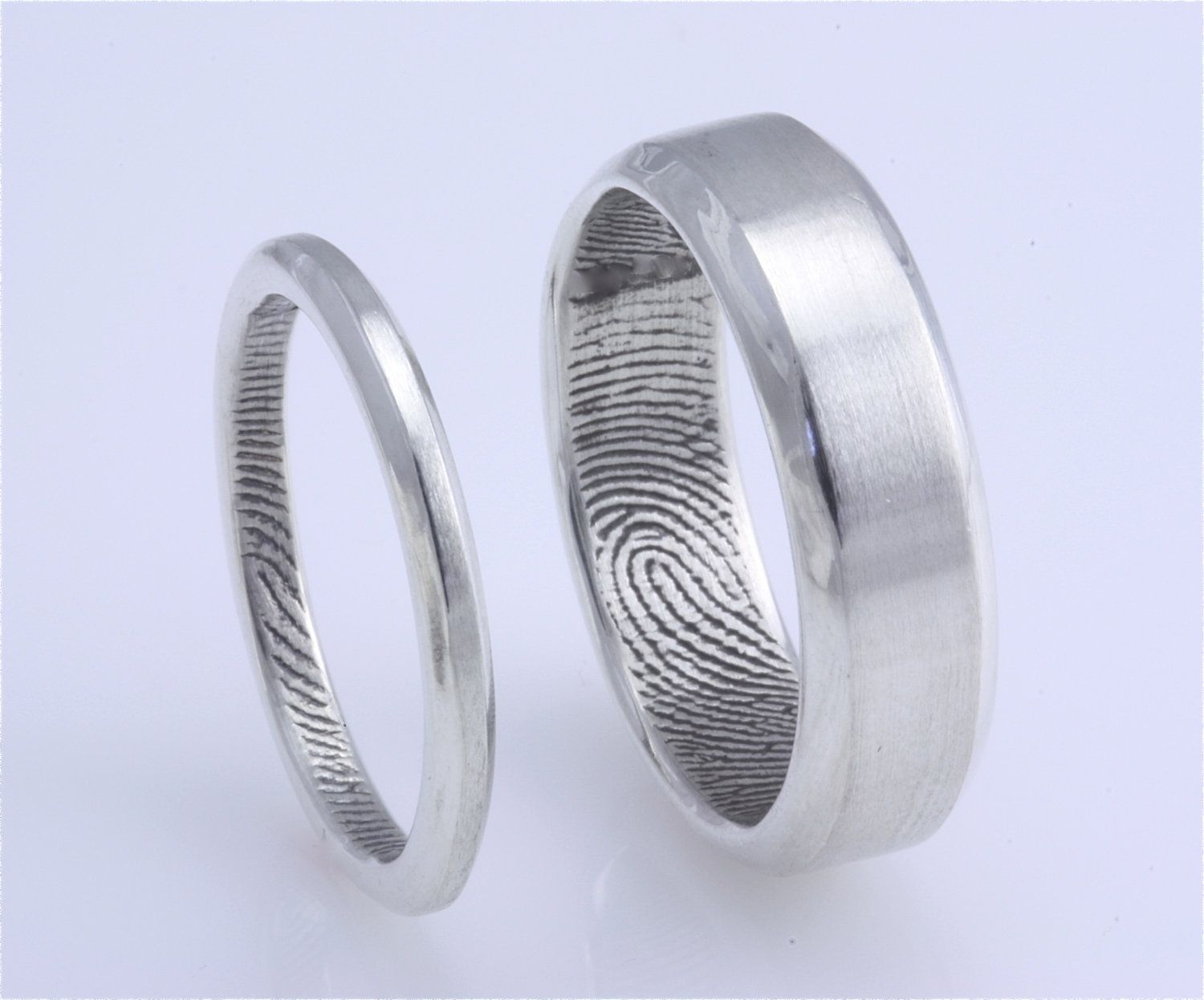 set hers wedding titanium commitment his coge tungsten bands palladium gold and red matching