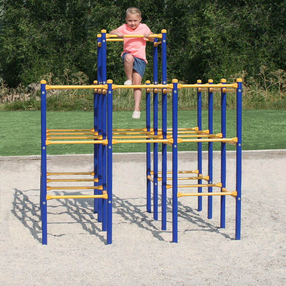 The Skywalker Sports Modular Jungle Gym will get your kids out of the house to start their journey in outd… (With images)   Free amazon products ...