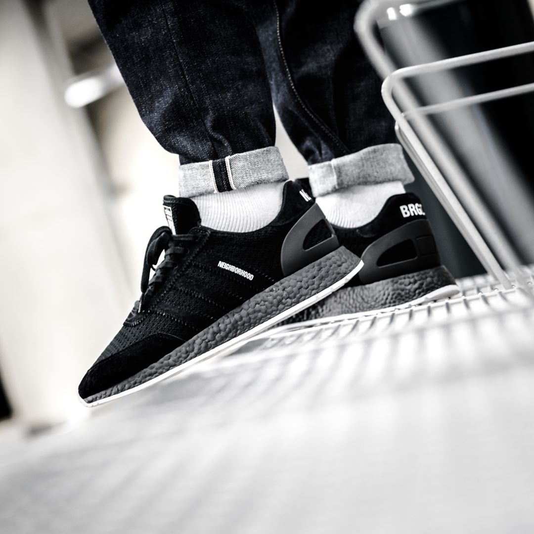 762647709ee03 Adidas x NEIGHBORHOOD I-5923 Black   White