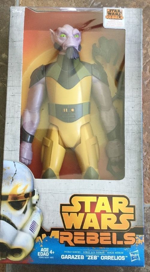 Star Wars Hero Series 12 Inch Figures Kanan Garrazeb Zeb Orrelios Collectable