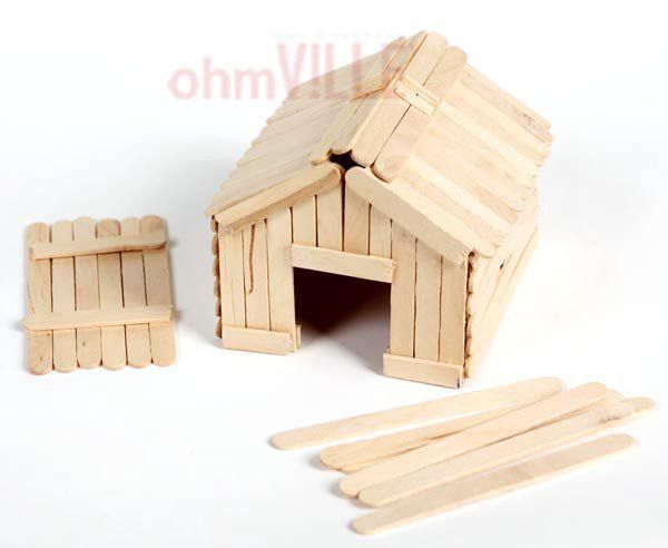 Diy Craft Tool 410 Wooden Popsicle Sticks Wooden Spatula Ice Cream Stick Guaranteed 100 Quality Free Popsicle Stick Houses Diy Popsicle Popsicle House