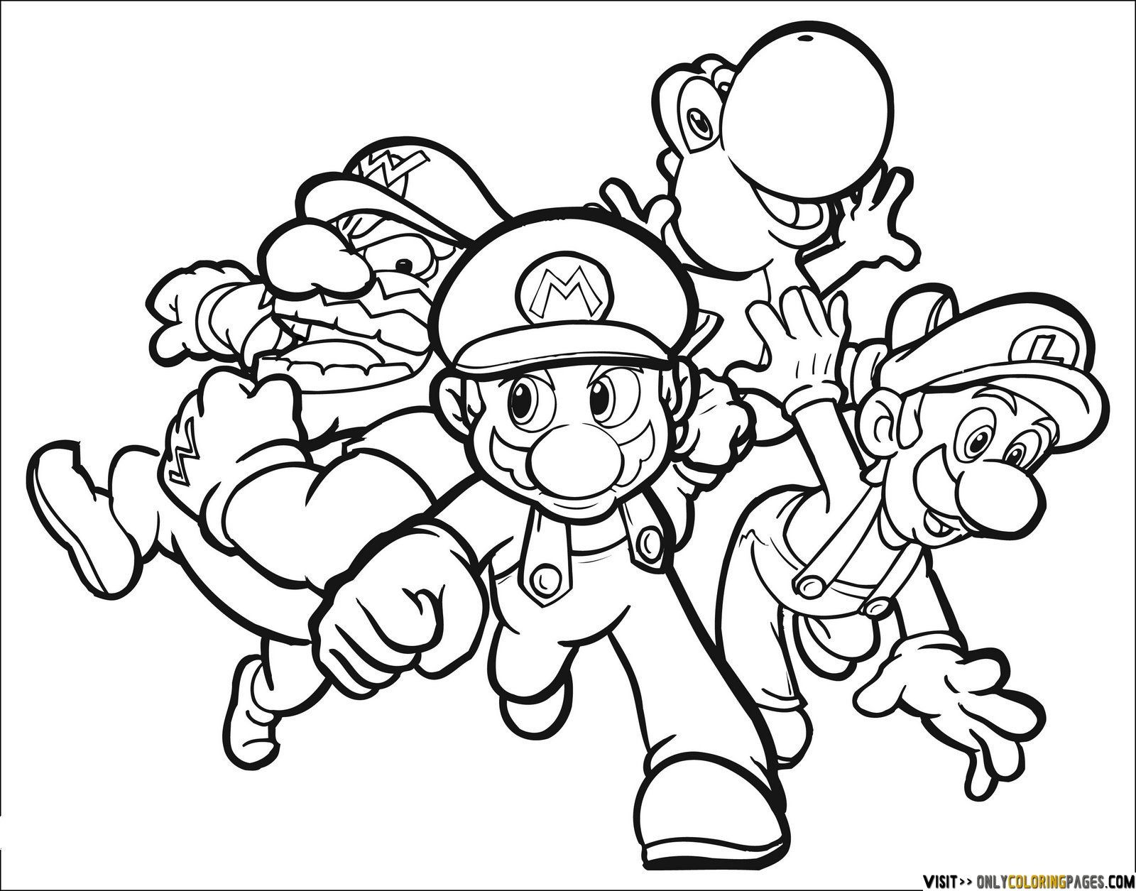 mario coloring pages for boys | Fargelegging | Pinterest | Schultüte ...