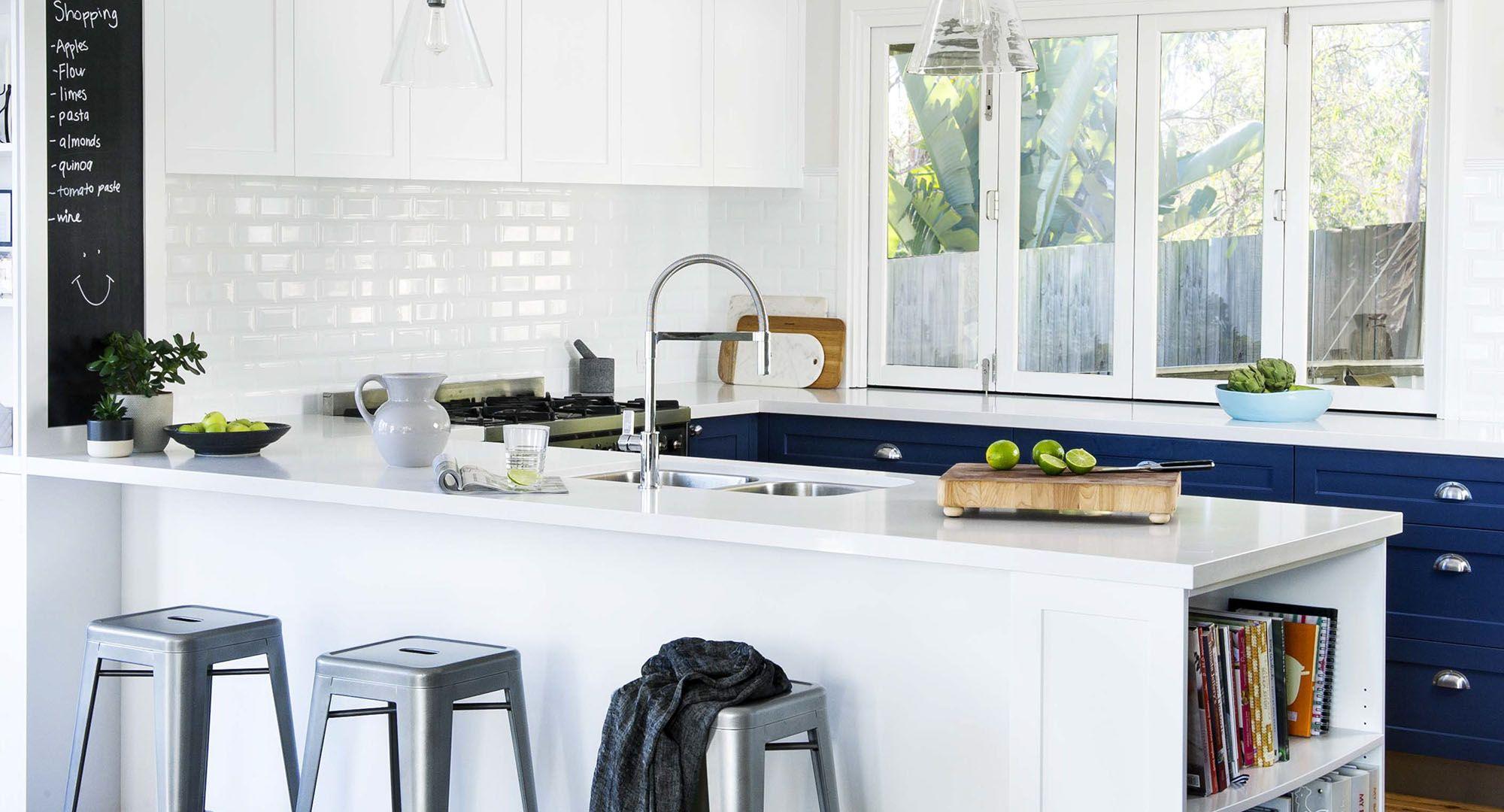 Hamptons kitchen inspiration beautiful in blue hamptons kitchen