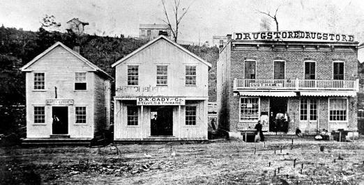 De Soto Main Street 1873 Missouri Town