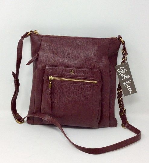 2c820a804 Get the trendiest Cross Body Bag of the season! The Elliott Lucca Carbanet Leather  Cross Body Bag is a top 10 member favorite on Tradesy.