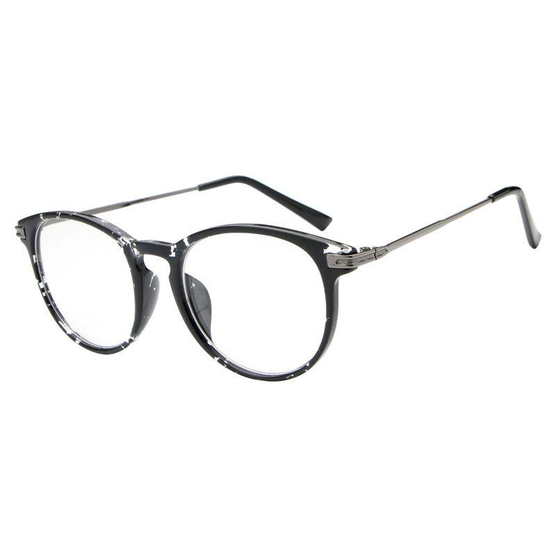 reading glasses Retro Unisex oculos para maquiagem Metal points ...
