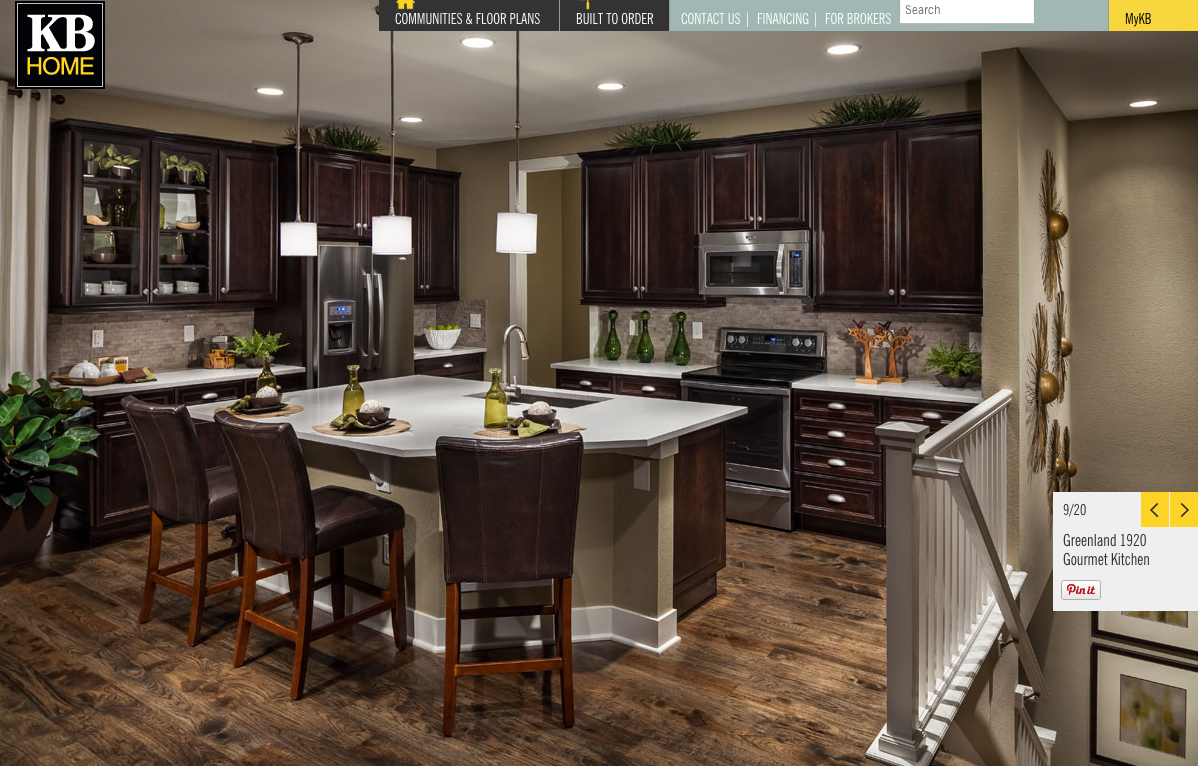 kb home parker co the vista at meridian village kitchen color scheme - Kitchen Color Schemes