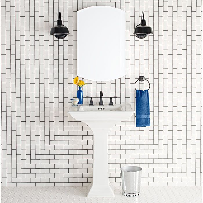 Gorgeous Variations On Laying Subway Tile Subway Tiles Bathroom