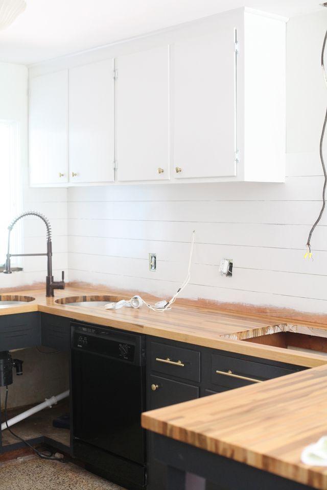 Refinishing Kitchen Cabinets (A Beautiful Mess) | Pinterest | Gold on