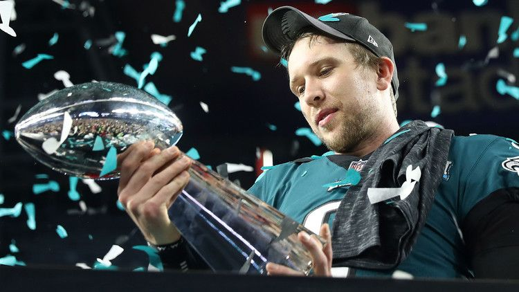 Nick Foles It Was Hard To Watch Other Qbs Sign Big Contracts Profootballtalk Philadelphia Eagles Philadelphia Eagles Fans Eagles Fans
