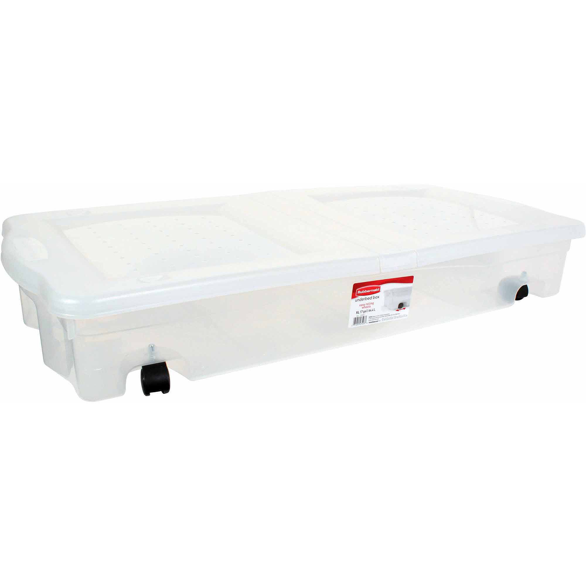 Home Under Bed Storage Containers Plastic Underbed Storage Plastic Box Storage