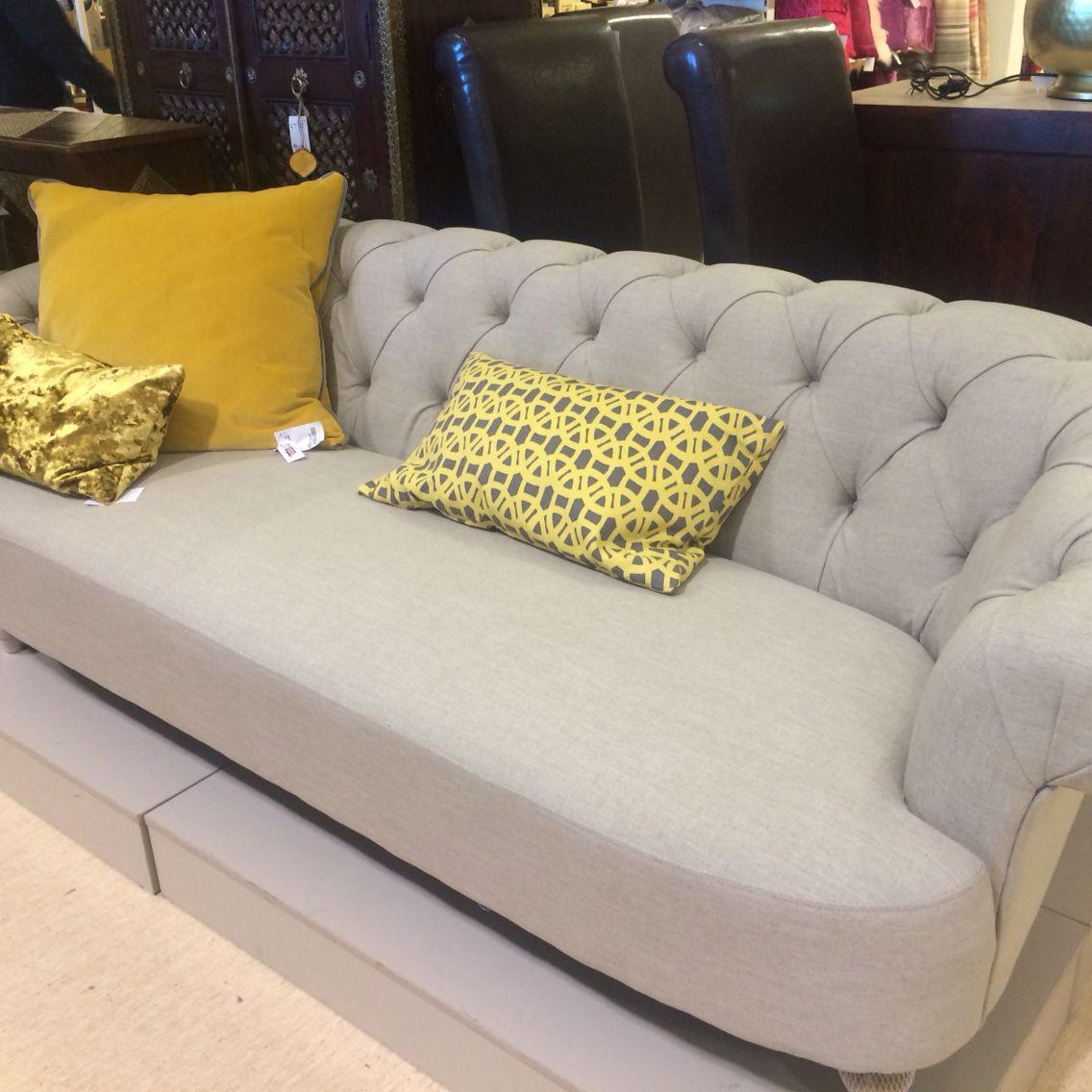 Homesense Fabric Chesterfield | Room, Living Room, Love Seat