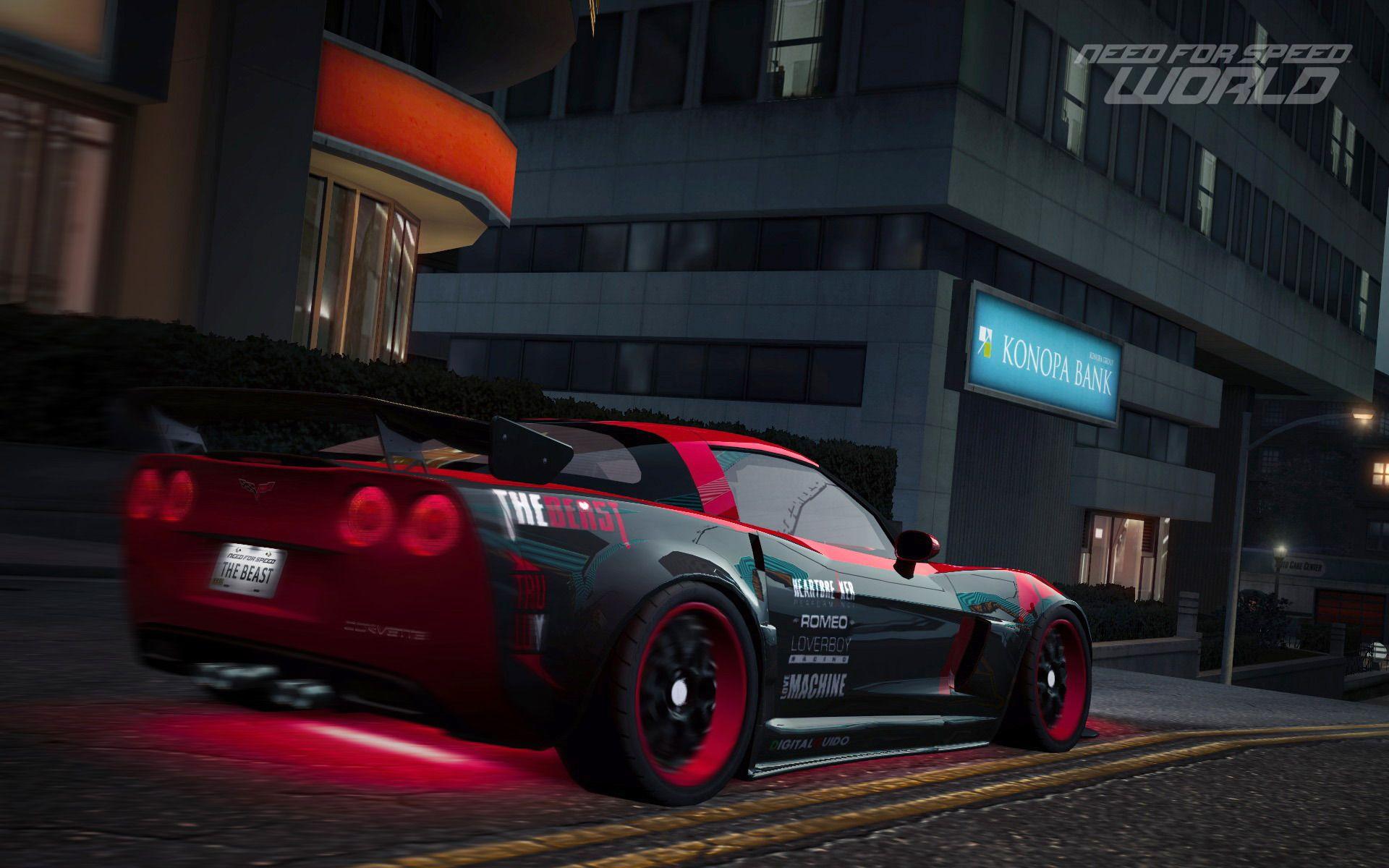 Corvette Screensavers Nfswo Beast Screensaver Images