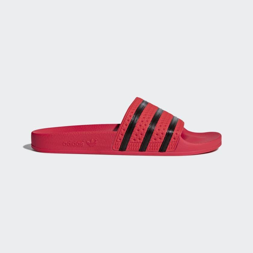 Adilette Slides Red CQ3098 | Adidas men