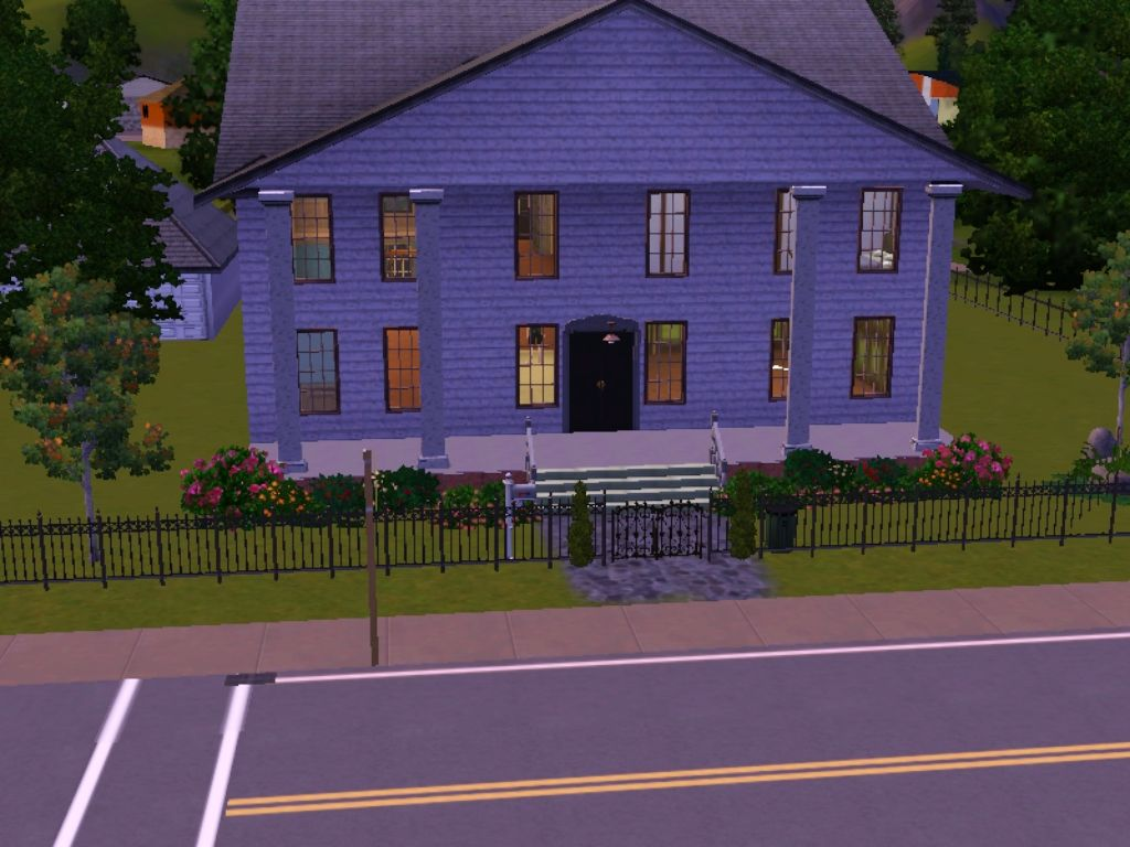 This Is The Morganville Vampires' Glass House I Built It Based On The  Description