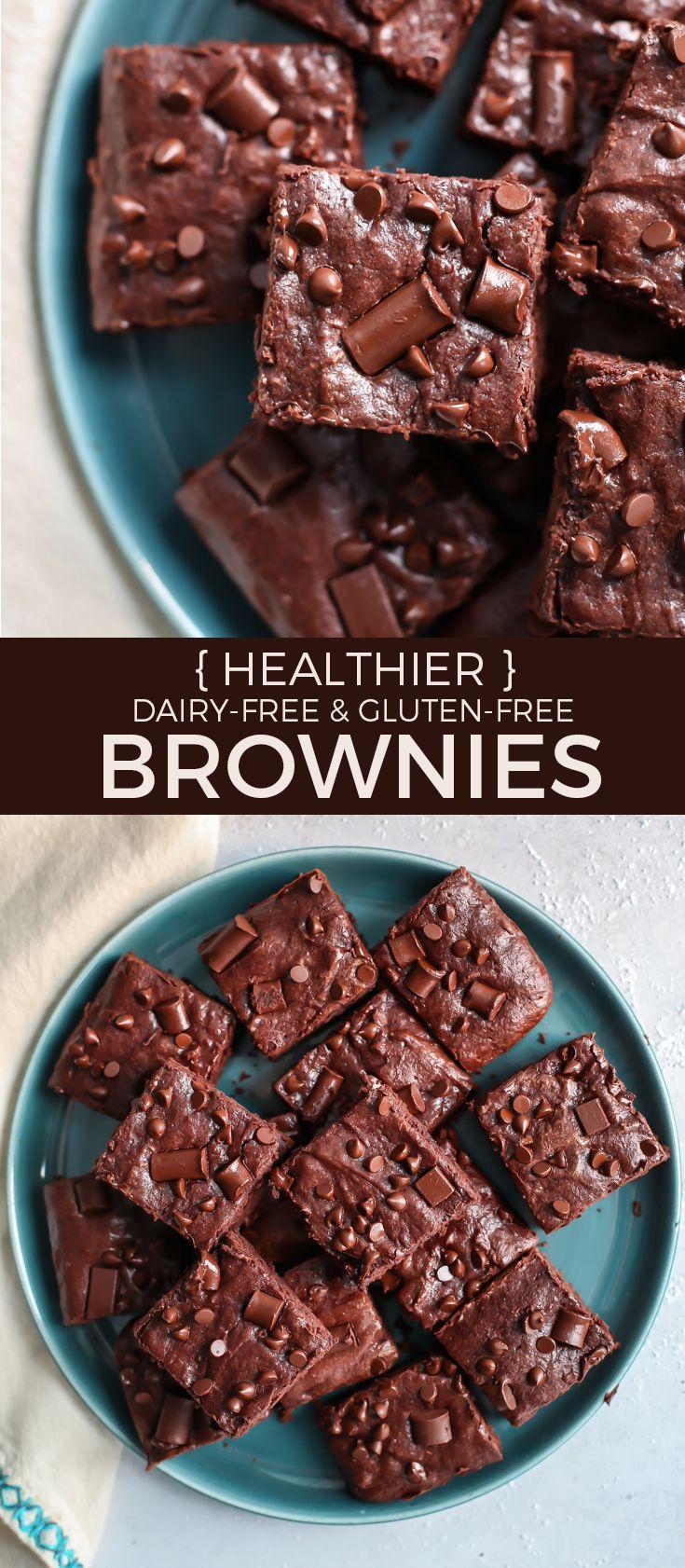 Healthier whole grain brownies glutenfree recipe