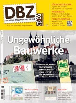 neu Deutsche BriefmarkenZeitung 16/2015