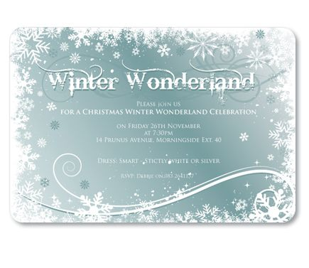 Invites Norah Birthday Ideas Pinterest Winter Wonderland