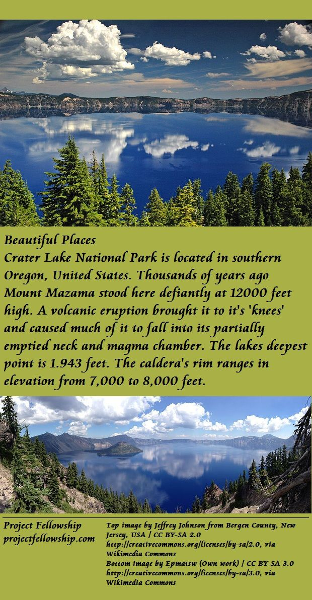 Friends of Crater Lake National Park - Newsletter