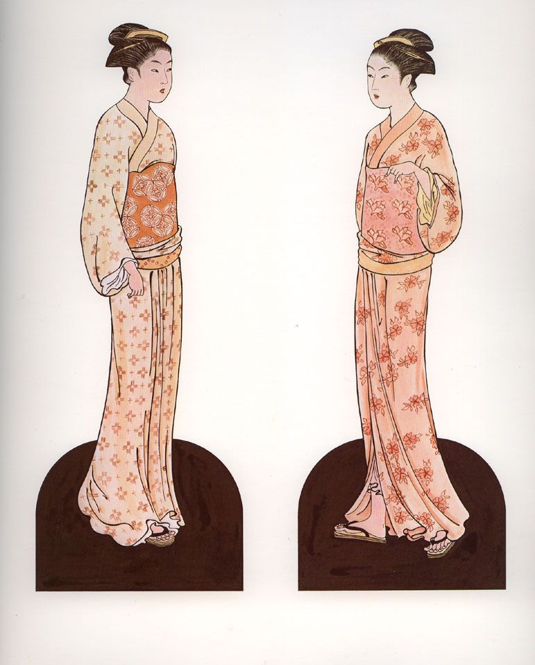 Japanesse Kimono Dolls