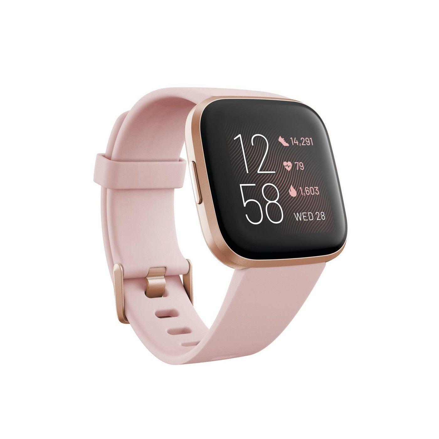 Fitbit Versa 2 Smartwatch In 2020 Smart Watch Apple Watch Buy Fitbit