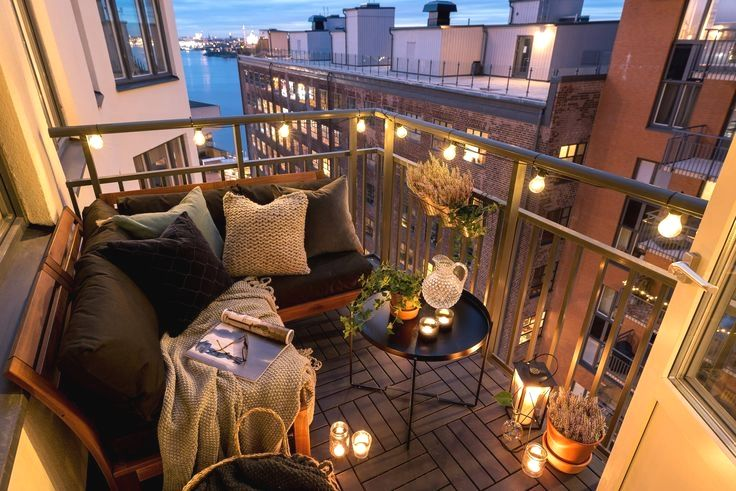 42 Small Balcony Lounge Ideas for the Perfect Relax Haven is part of Small Balcony Lounge Ideas For The Perfect Relax Haven - Who would know such small space could be completely changed…