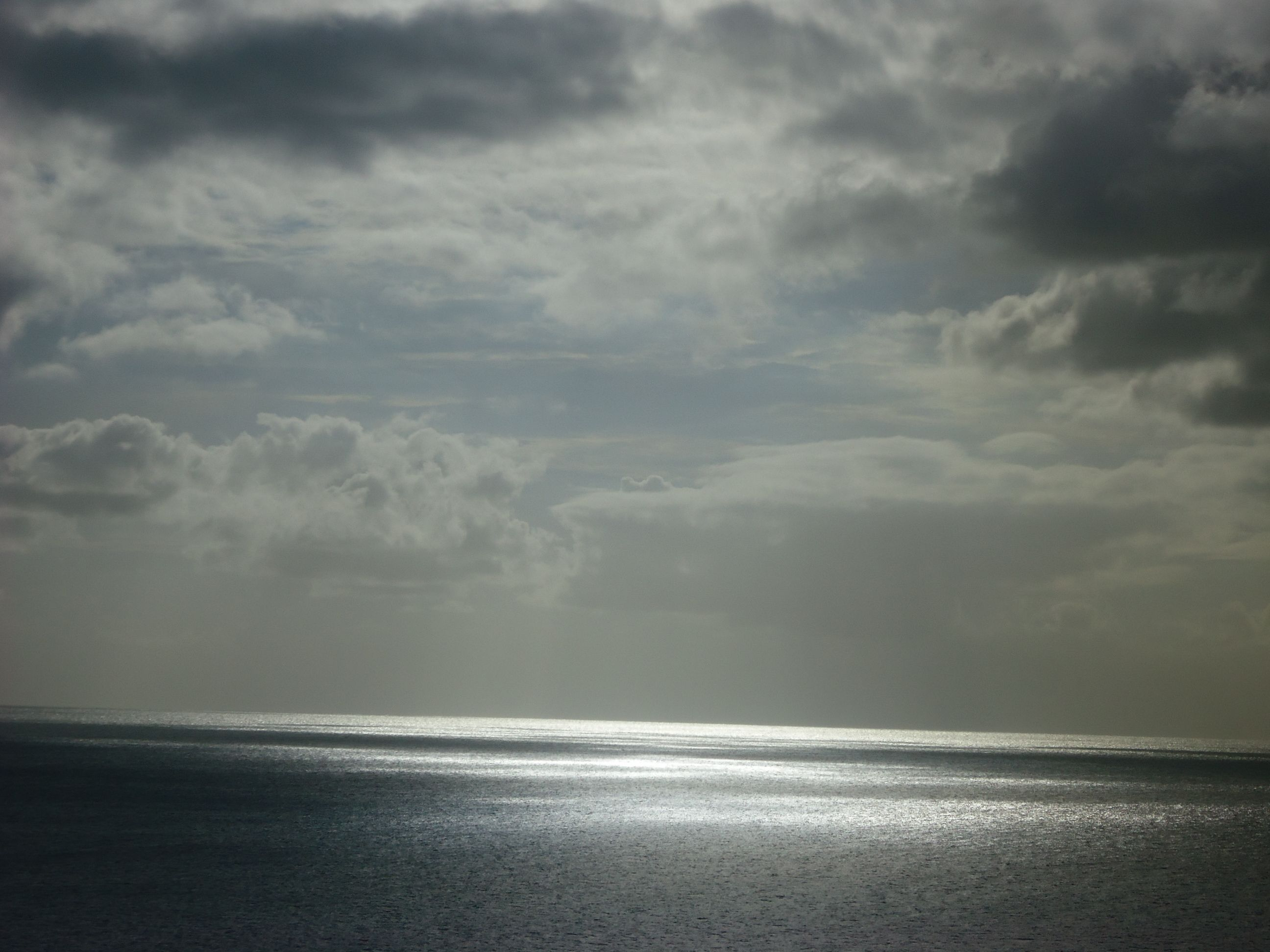 Vista del Oceano desde el crusero Adventure of the seas