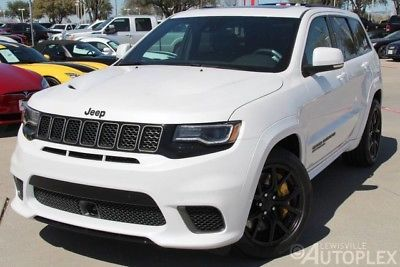Ebay Jeep Grand Cherokee 2018 Jeep Grand Cherokee Trackhawk White Msrp 100k Plus Jeep Jeeplife Jeep Grand Cherokee Jeep White Jeep Grand Cherokee