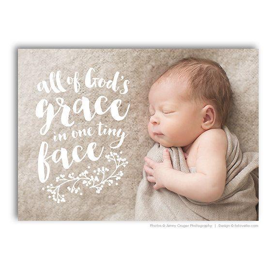 Baby Wyatt Birth Announcement Template \u2022 Designer Photoshop