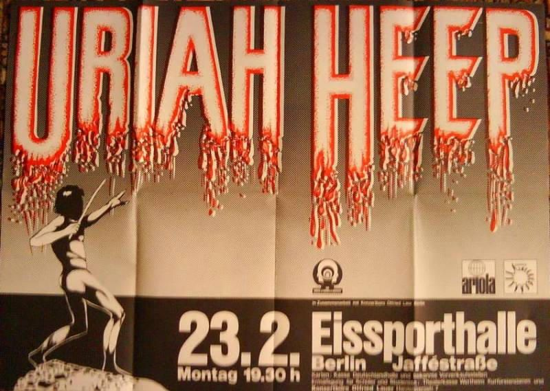 23. Februar 1976 Uriah Heep – Rockinberlin