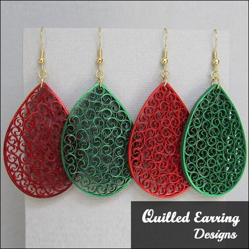 pics for paper quilling jewelry beginners quilling