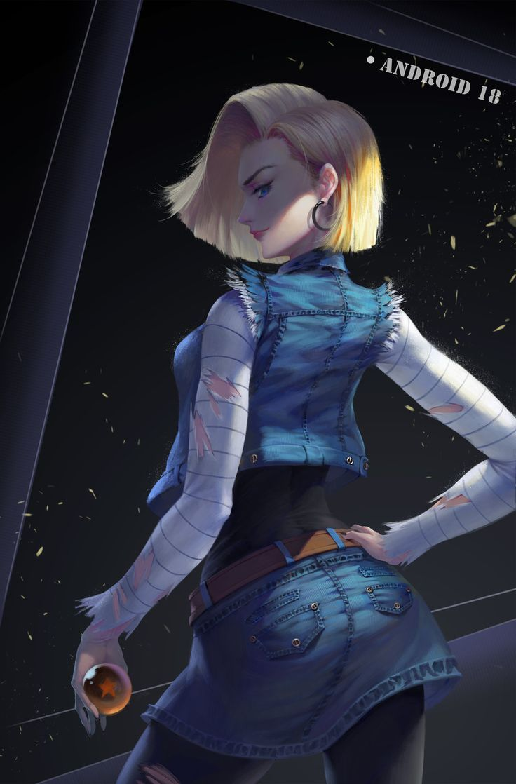 Android 18 Nude pin on the beautiful and sexy android 18