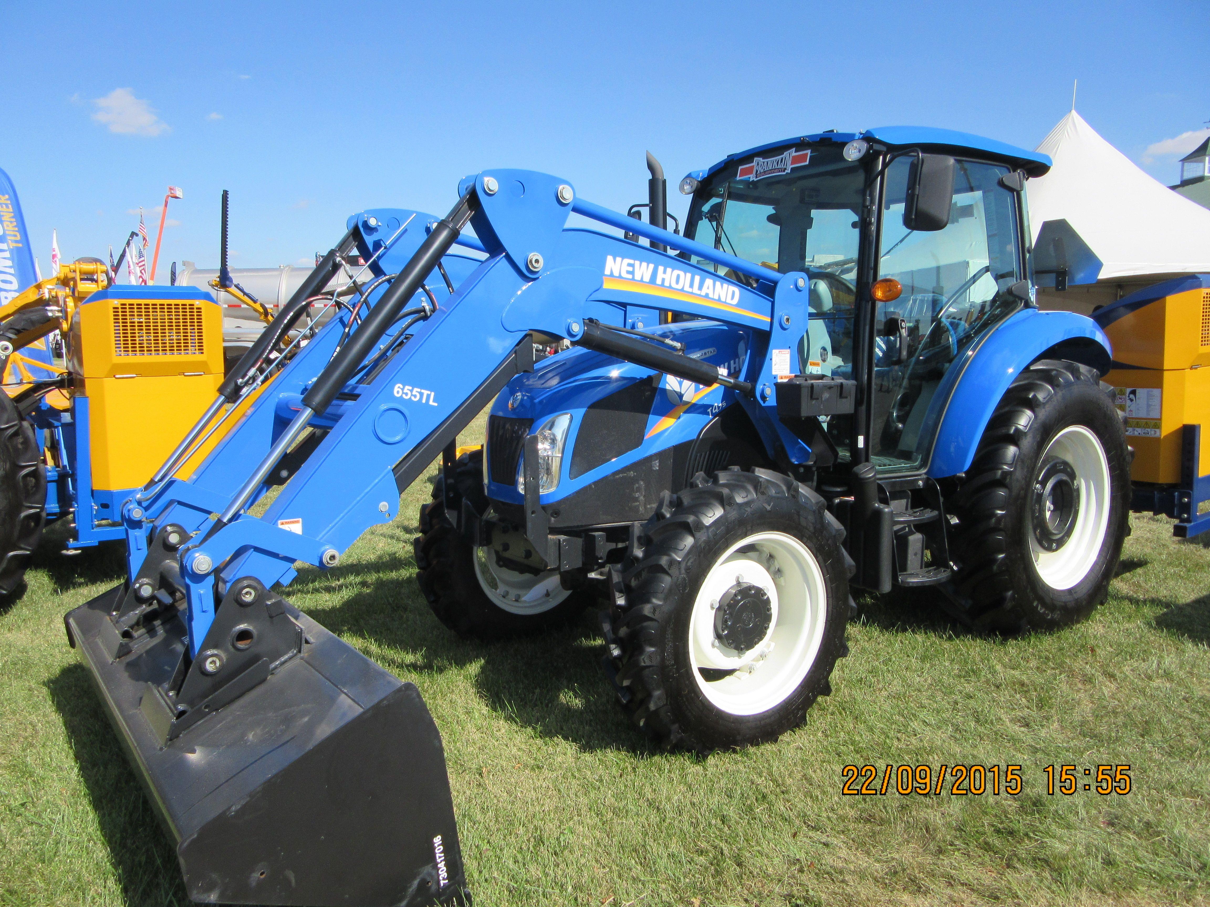 New Holland T4 75 & 65TL loader | New Holland farm equipment