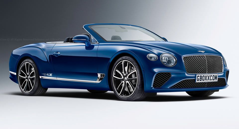 Yes A 2018 Bentley Continental Gt Cabriolet Would Look Like This Carscoops Bentley Continental Gt Bentley Continental Bentley Gt