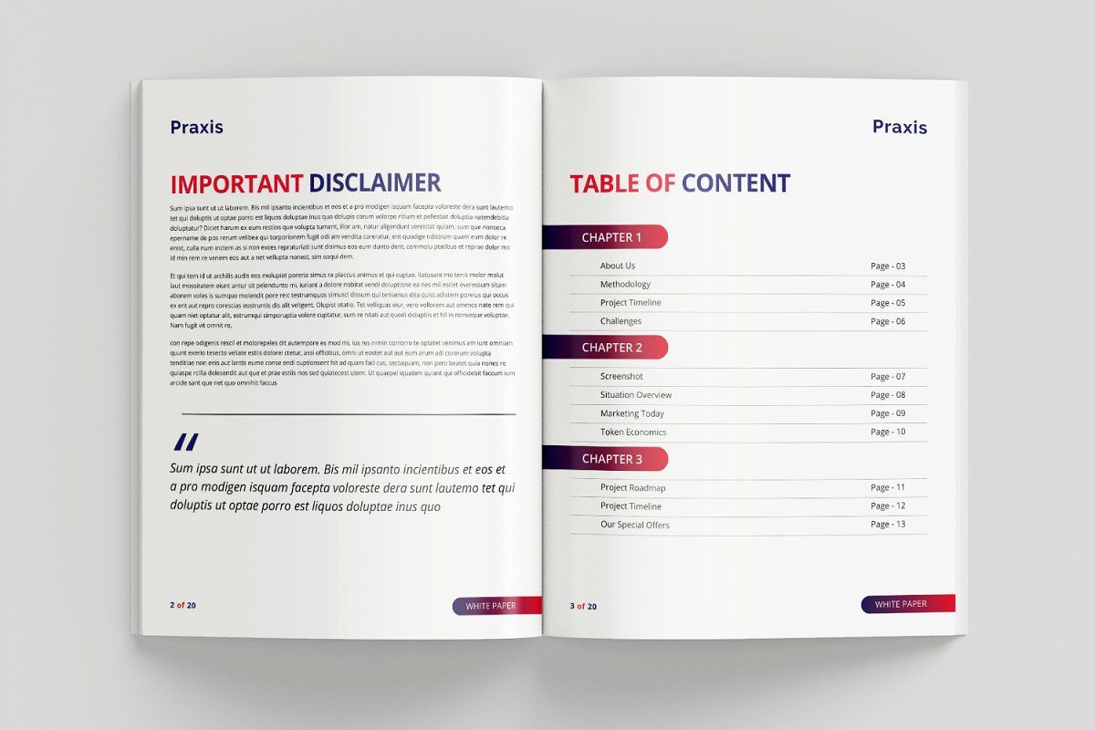 White Paper Template In 2020 Paper Template