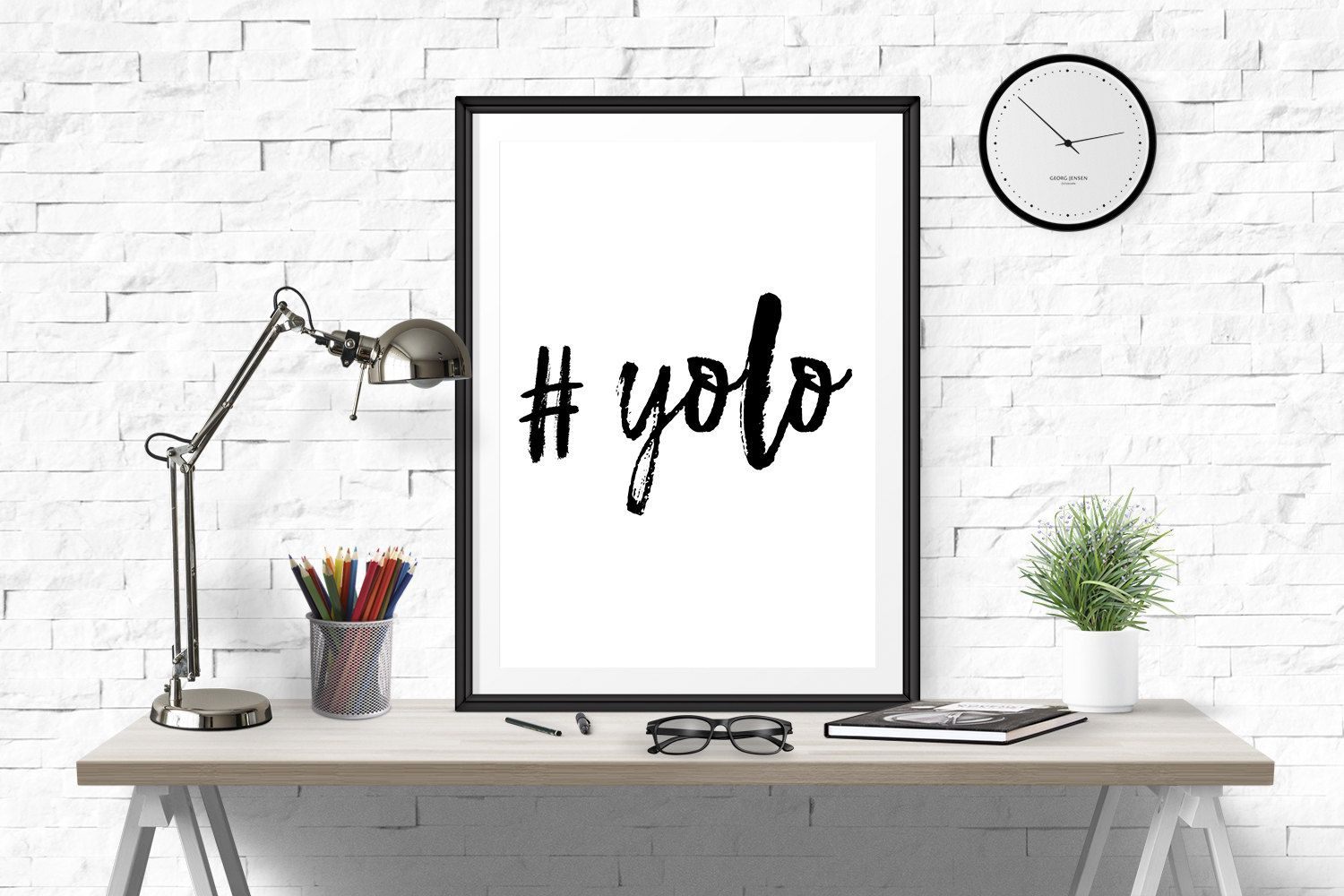 Yolo print, Yolo, Hashtag Yolo, prints for teens, Art Print, apartment decor, Yolo poster, Hashtag Print, Watercolor, Famous Trendy Quote by RapidPrint on Etsy
