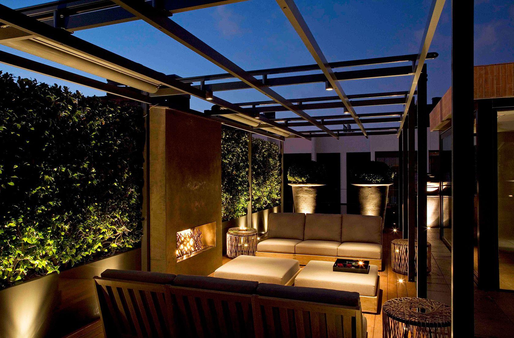 Luciano Giubbilei Barcelona Roof terrace design