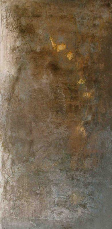 Samantha daSilva   Petals on Birch, 2012   acrylic and mixed media on canvas /sm
