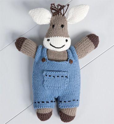 modele doudou au tricot